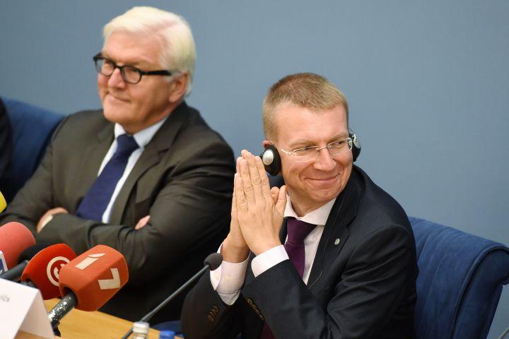 Министры иностранных дел Балтии и Германии в Риге