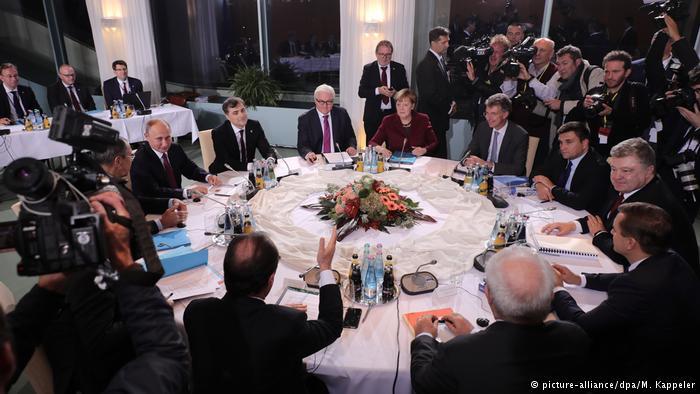 В Берлине завершились переговоры нормандской четверки