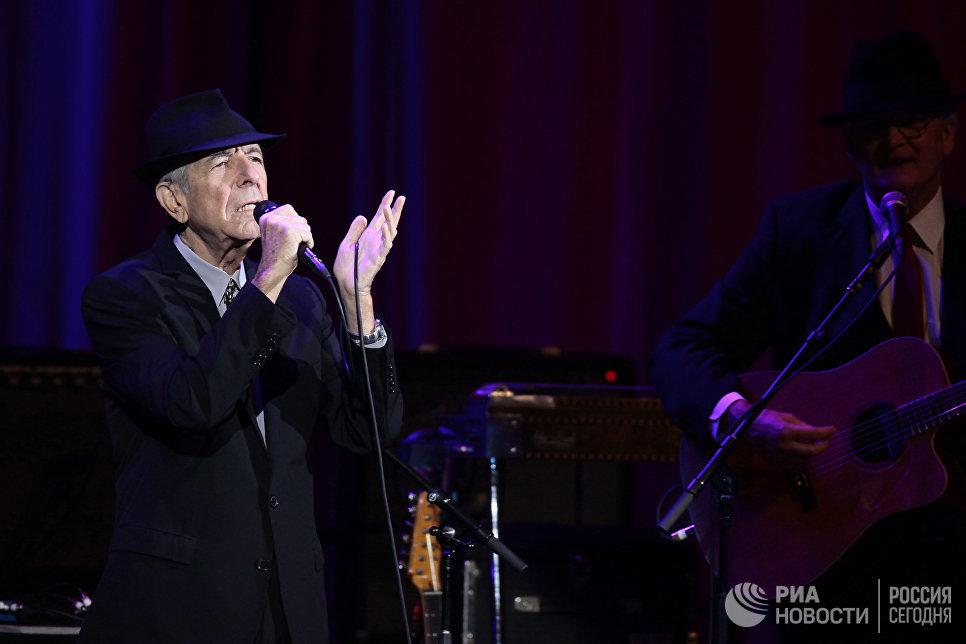 Скончался один из самых загадочных певцов Leonard Cohen Леонард Коэн