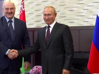 Путин и Лукашенко не разлей вода едины в отношении внешних угроз