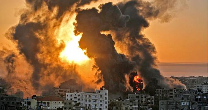 2021 обострение конфликта Израйль — Палестина — Сектор Газа