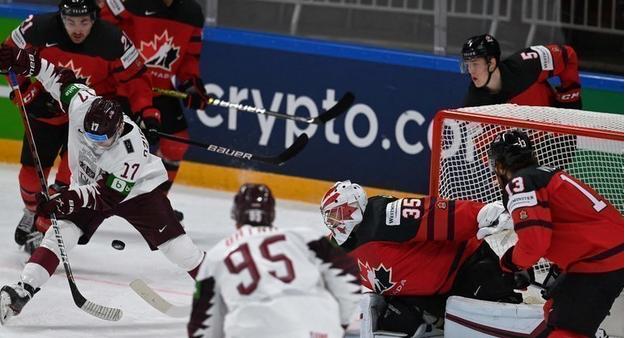 Латвия сотворила подвиг и впервые в истории победила Канаду