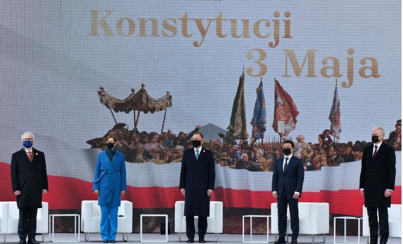 1 декларация 2021, о сотрудничестве: стран Балтии, Польши и Украины
