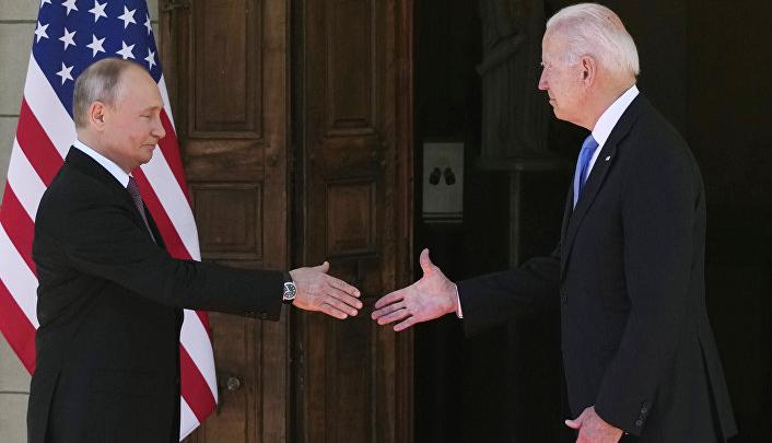 Российско-американские переговоры 2021- в Женеве Швейцария
