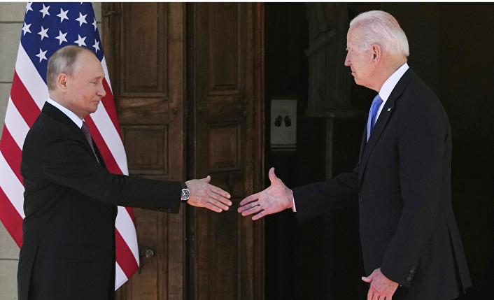 Российско-американские переговоры 2021 в Женеве Швейцария
