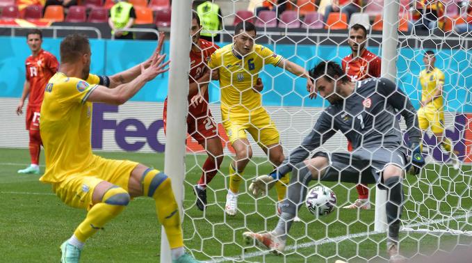 футбольный чемпионат Европы 2021, Сборная Украины, 2021 Сборная Северной Македонии