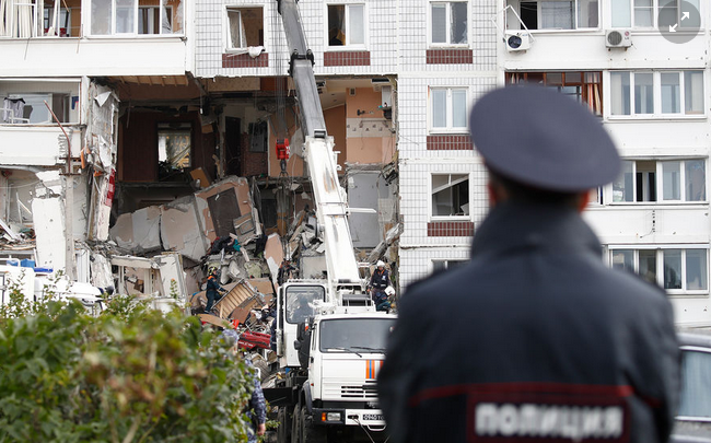 взрыв в Нагинске — Russion, Moscow